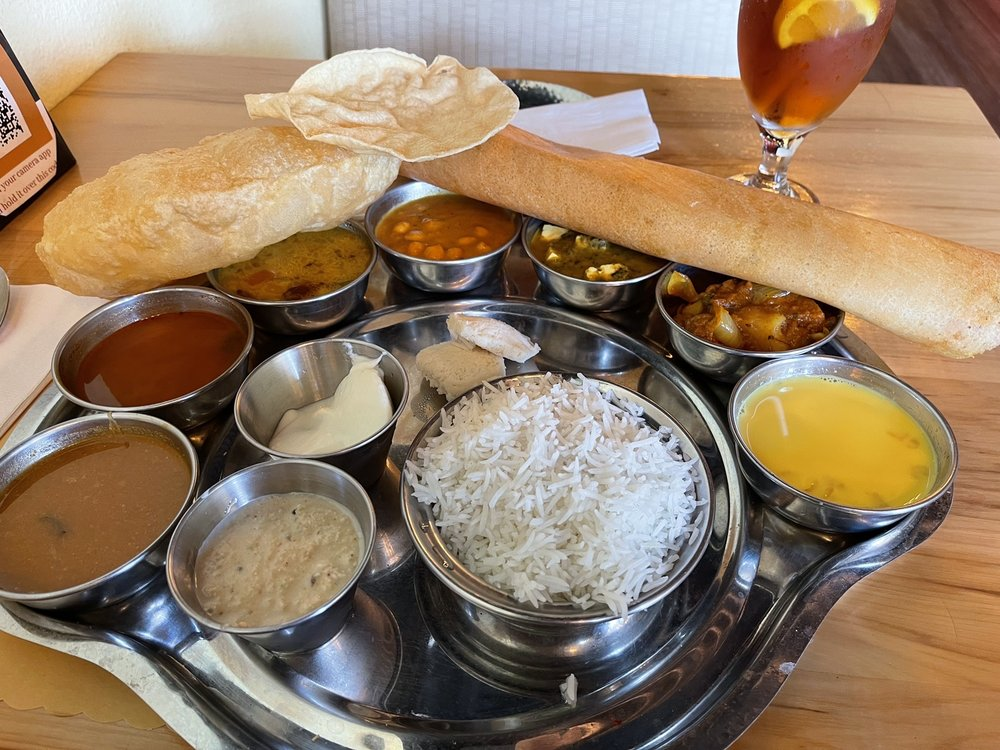 South Indian Lunch Thali!