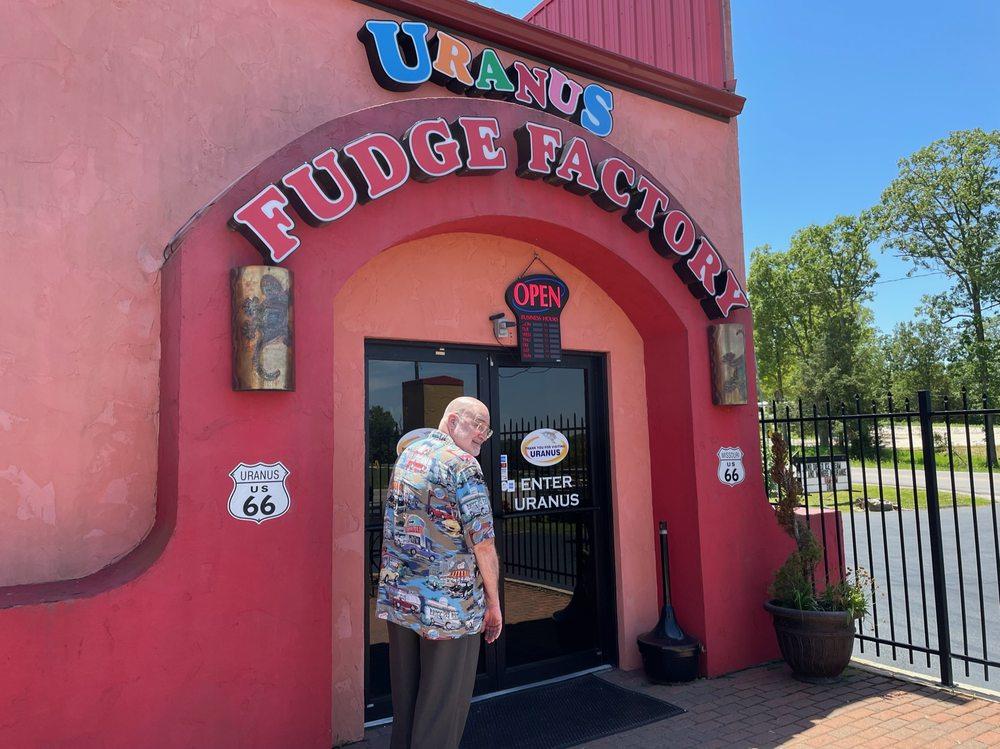 The best fudge comes from Uranus.