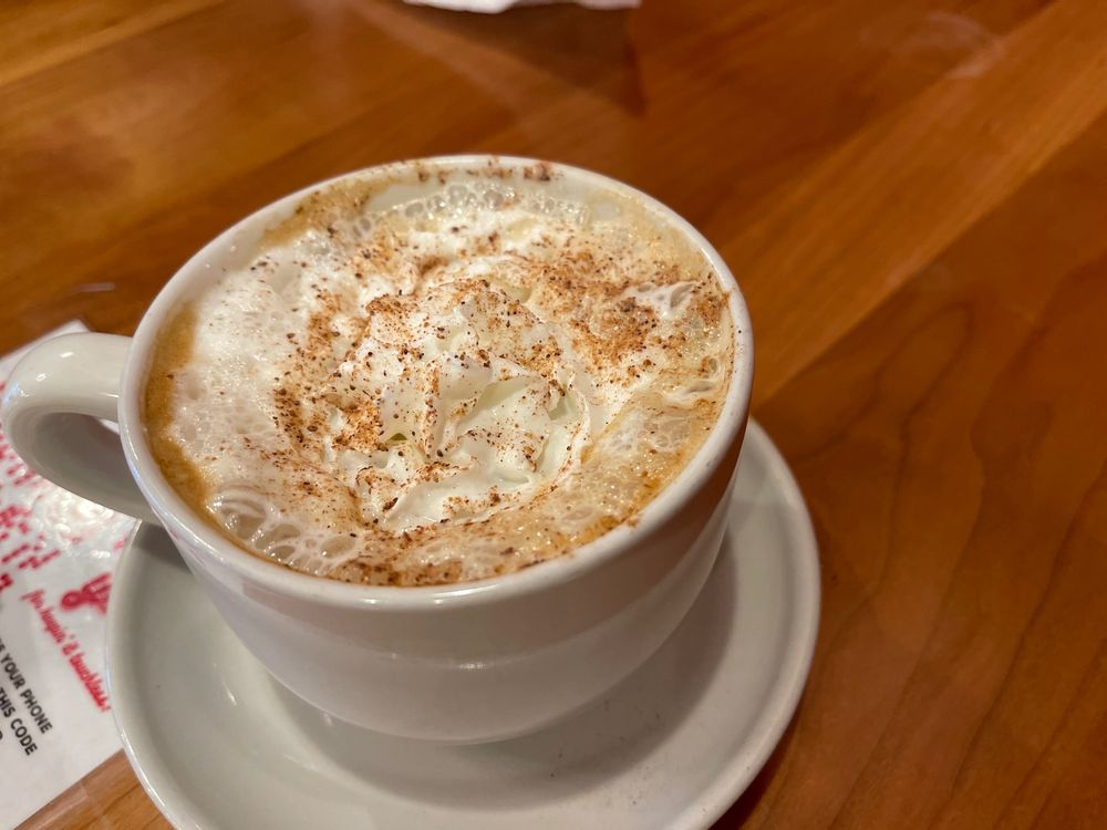 Vanilla spiced latte