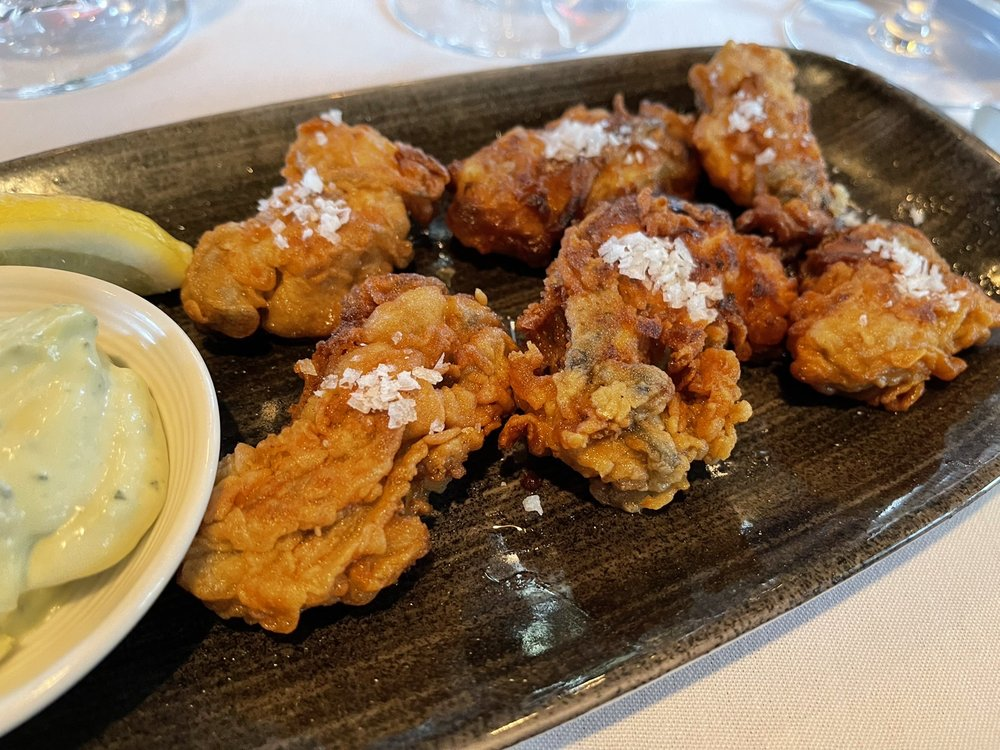 Pan Fried Willapa Bay Oysters